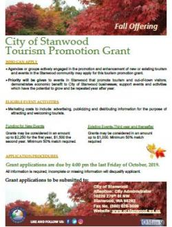 Fall Grant Flyer (PDF) Opens in new window